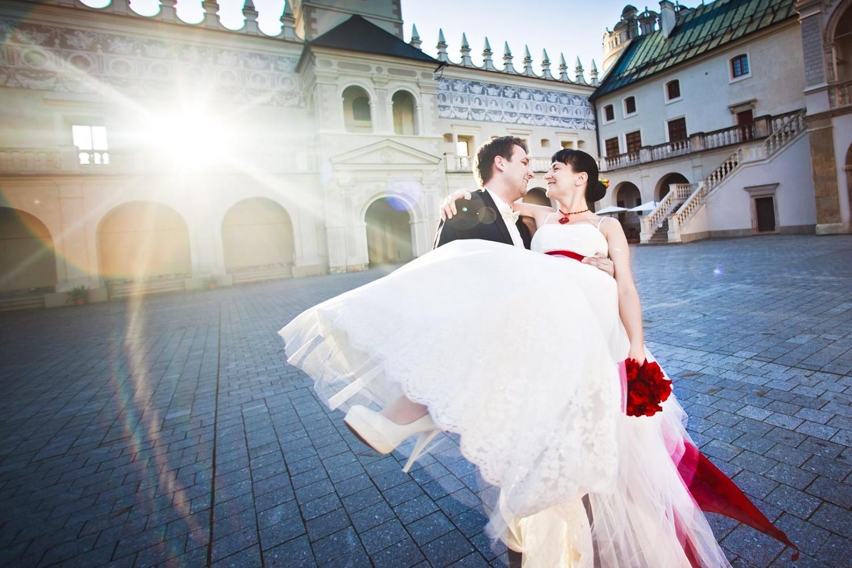 fotografia ślubna plener