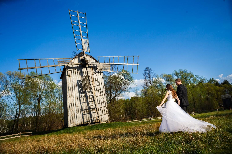 fotografia ślubna młyn