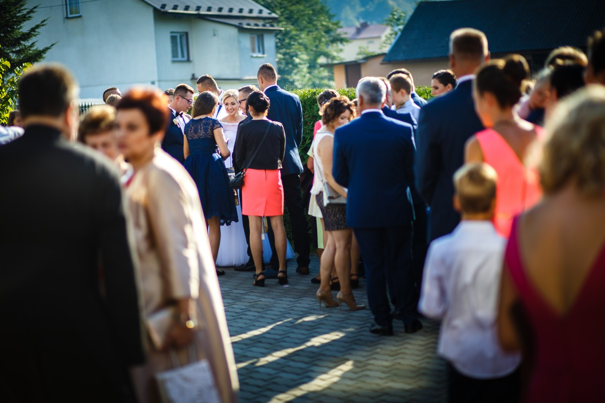 Fotografia Ślubna Rzeszów Ceremonia Życzenia